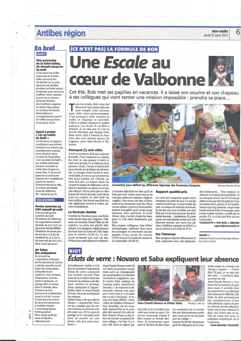 NOVARO ECLATS VERRE NICE MATIN 21 AOUT 2014 2 pages_Page_2