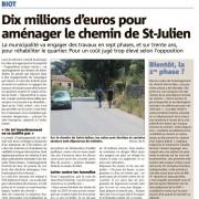 nice matin 16-07 amenagement-chemin-st-julien biot
