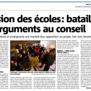 L'école Paul Langevin condamnée à fermer? - Nice Matin 09/12/2016