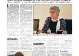 Madame Debras veut multiplier par dix la taxe communale d'eau potable! - Nice Matin 16/12/2016