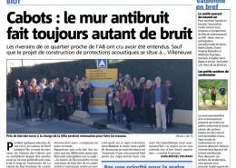 Le bruit n'est pas une priorité pour la maire de Biot! - Nice Matin 31/12/2016